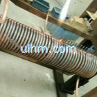 producing induction coils for induction forging works