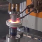 auto induction brass brazing